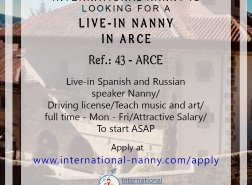 Get the best Nanny Jobs in Arce